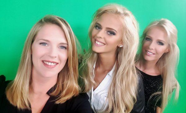 RTL-TVI – 11 AOUT 2016 TOURNAGE AVEC SOPHIE PENDEVILLE, ANNELIEN COOREVITS & Chloé