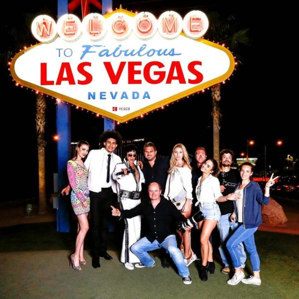 LAS VEGAS, LE MAKING-OFF